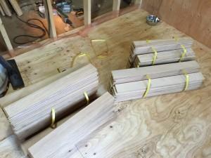 工程3(コンパネ貼り・床材)